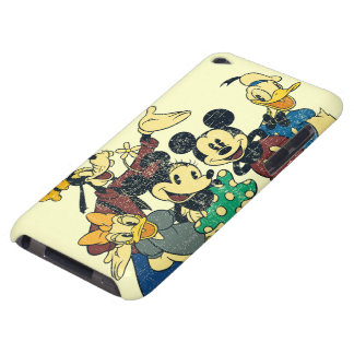 Mickey & Friends | Vintage Hug Barely There iPod Covers