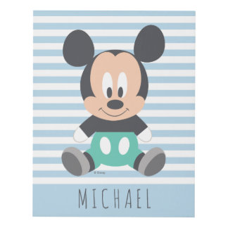 Mickey Mouse | Baby Mickey - Add Your Name