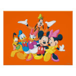 Mickey Mouse & Friends 4 Posters
