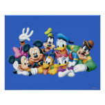 Mickey Mouse & Friends 5 Posters