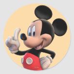 Mickey Mouse Number 1 Sticker