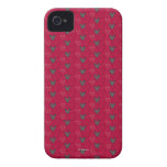 Mickey Mouse Red Pattern iPhone 4 Case