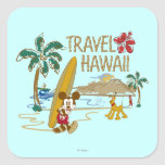 Mickey Mouse Travel Hawaii Sticker
