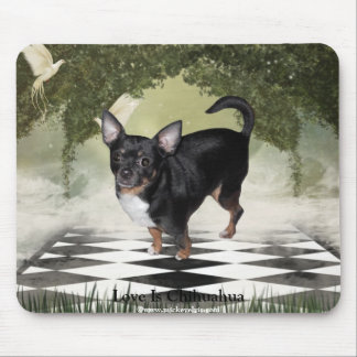 MickeyElvis Chihuahua 2 Mouse Mat