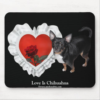 MickeyElvis Chihuahua 8 Mouse Pad