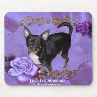 MickeyElvis Chihuahua Mouse Pad