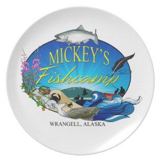 Mickey's Fishcamp Plate