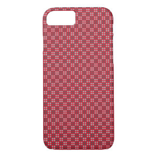 Micro Checkered Red iPhone Protector iPhone 7 Case