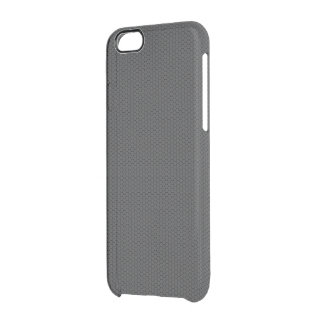 Micro Hexagonal Honeycomb Carbon Fiber Clear iPhone 6/6S Case