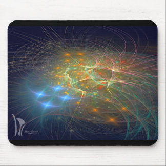 Micro Organisms Mouse Pad