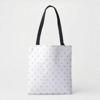 Micro Polka Dots Tote Bag