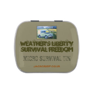 MICRO SURVIVAL TIN CANDY TINS