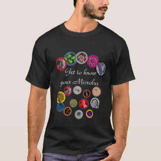 Microbes for  the Med Student T-Shirt