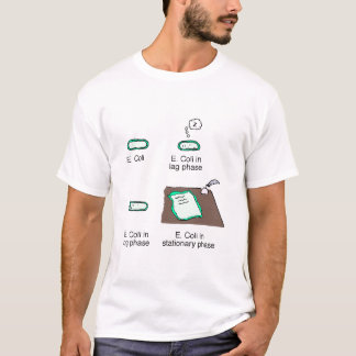 Microbial Growth Phases T-Shirt