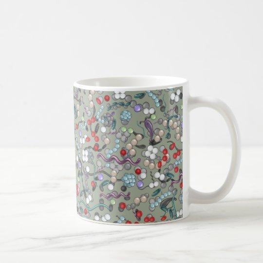 Microbiology Pattern Coffee Mug
