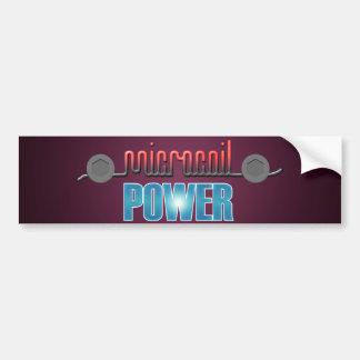 Microcoil Power Bumper Sticker