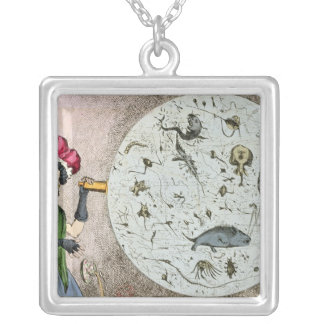 Microcosm dedicated to the London Water Silver Plated Necklace