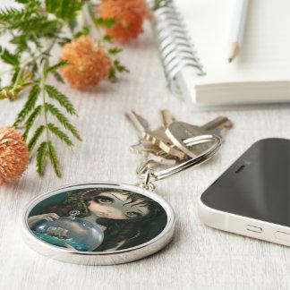 Microcosm Seascape Keychain