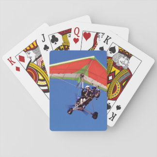 Microlight Flying In Sky, Western Cape Deck Of Cards