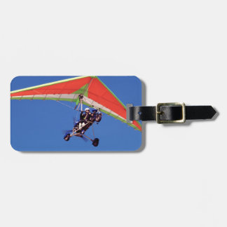 Microlight Flying In Sky, Western Cape Luggage Tag