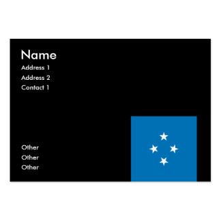 Micronesia Business Card Template