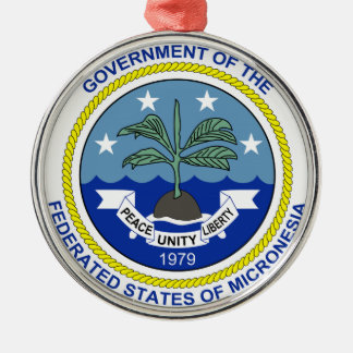 Micronesia Coat of Arms Christmas Ornament