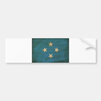 Micronesia Flag Bumper Sticker