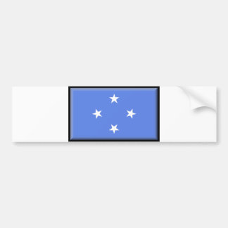 Micronesia Flag Bumper Sticker