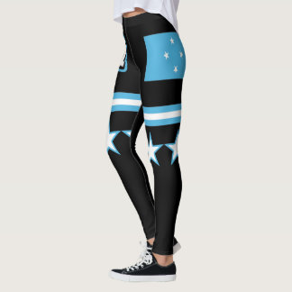 Micronesia Flag Leggings