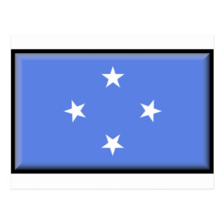 Micronesia Flag Postcard