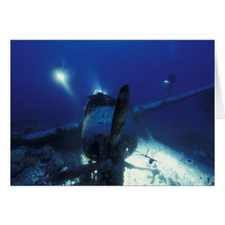 Micronesia, Palau, World Heritage Site. Divers Card