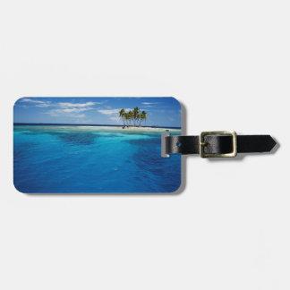 Micronesia, Tonowas, View of idyllic tropical Luggage Tag
