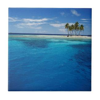 Micronesia, Tonowas, View of idyllic tropical Tile