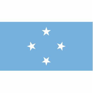Micronesian Flag Photo Sculptures