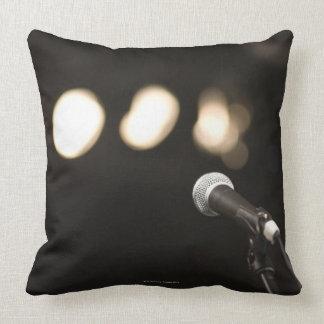 Microphone and Spotlights Cushion
