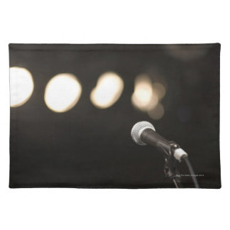 Microphone and Spotlights Placemat
