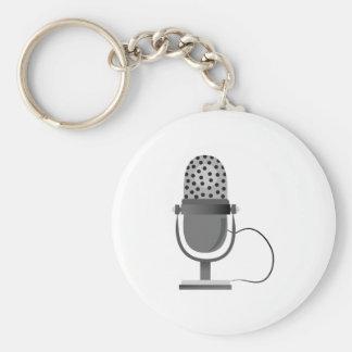 Microphone Keychains