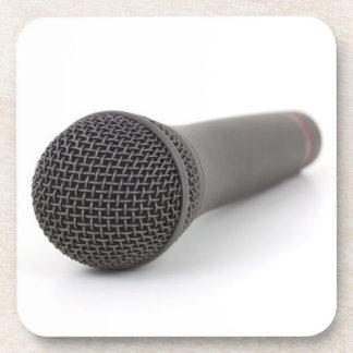 Microphone Photo Beverage Coaster