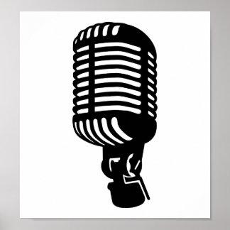 Microphone Print