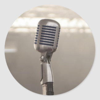 Microphone rock and roll