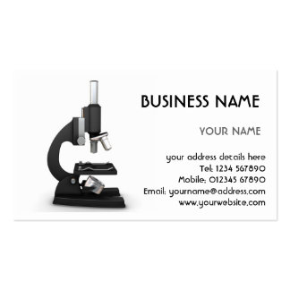 Microscope Business Card