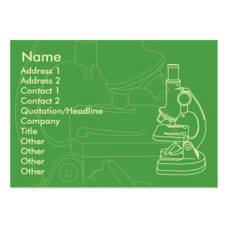 Microscope - Chubby Business Cards