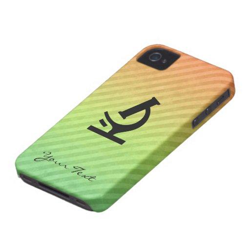 Microscope design iPhone 4 cases
