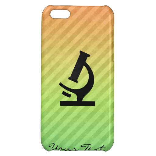 Microscope design cover for iPhone 5C