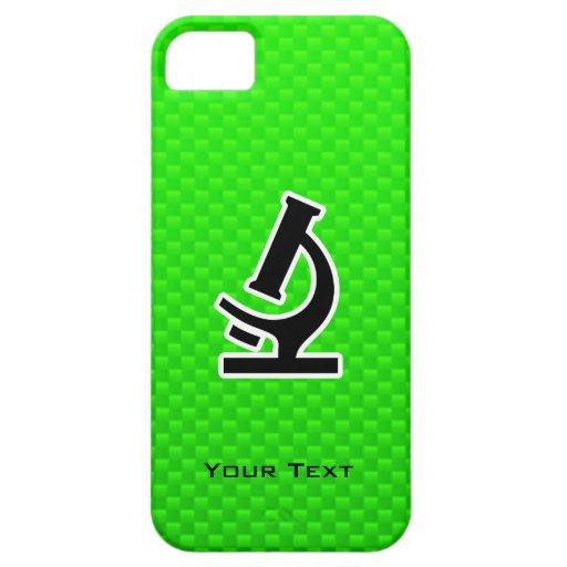 Microscope; Green iPhone 5 Covers