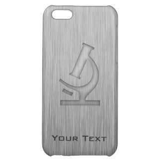 Microscope; Metal-look Case For iPhone 5C