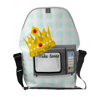 Microwave is King of the Kitchen Crown Courier Bags