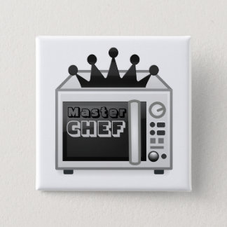 Microwave Master Chef 15 Cm Square Badge