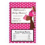 Microwave Popcorn Wrapper Pink Mod Mum Polka Dots Flyer Design