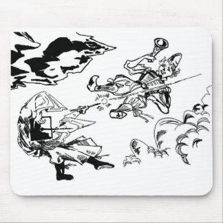 Mid-Air Battle Mousepad! Mouse Mat